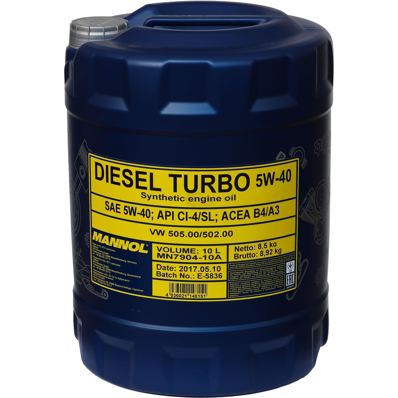 10l mannol motor l diesel turbo 5w 40 motorsp lung motor. Black Bedroom Furniture Sets. Home Design Ideas