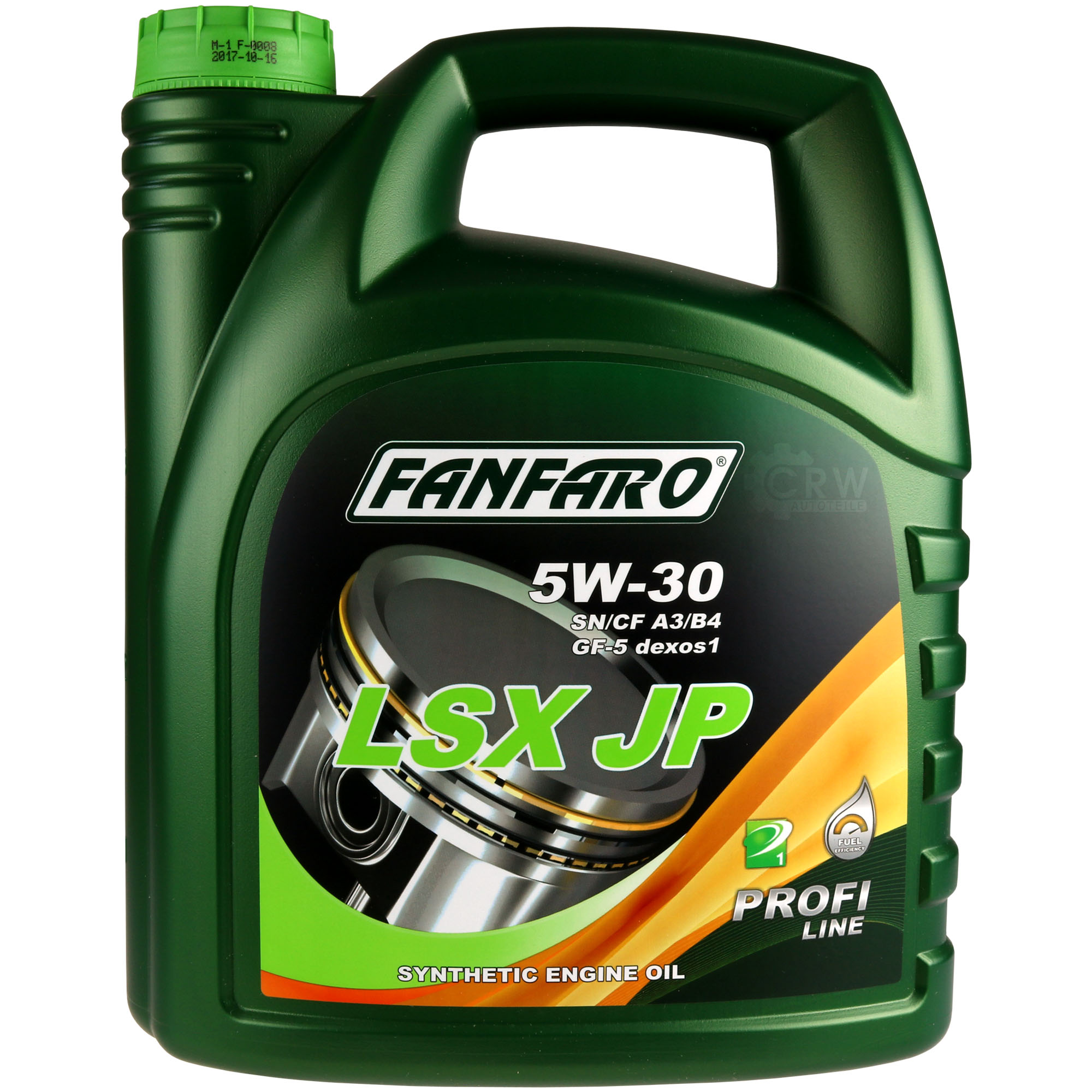 4 liter orignal fanfaro lsx jp 5w-30 api sn/cf motoröl engine oil Öl