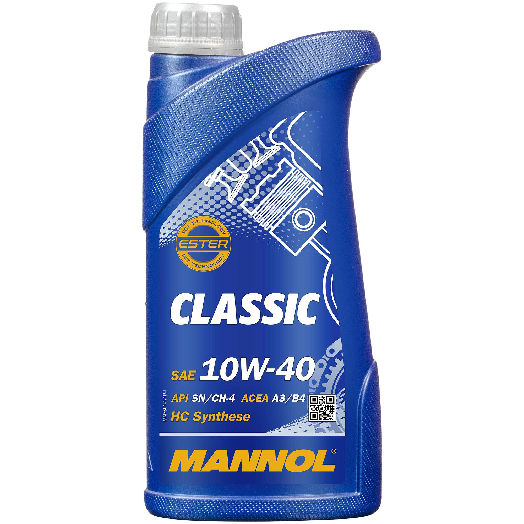 Motor-aceite-8l-MANNOL-Classic-10w-40-hombre-filtro-Filtro-paquete-Mercedes-Benz-CLK-c208 miniatura 2