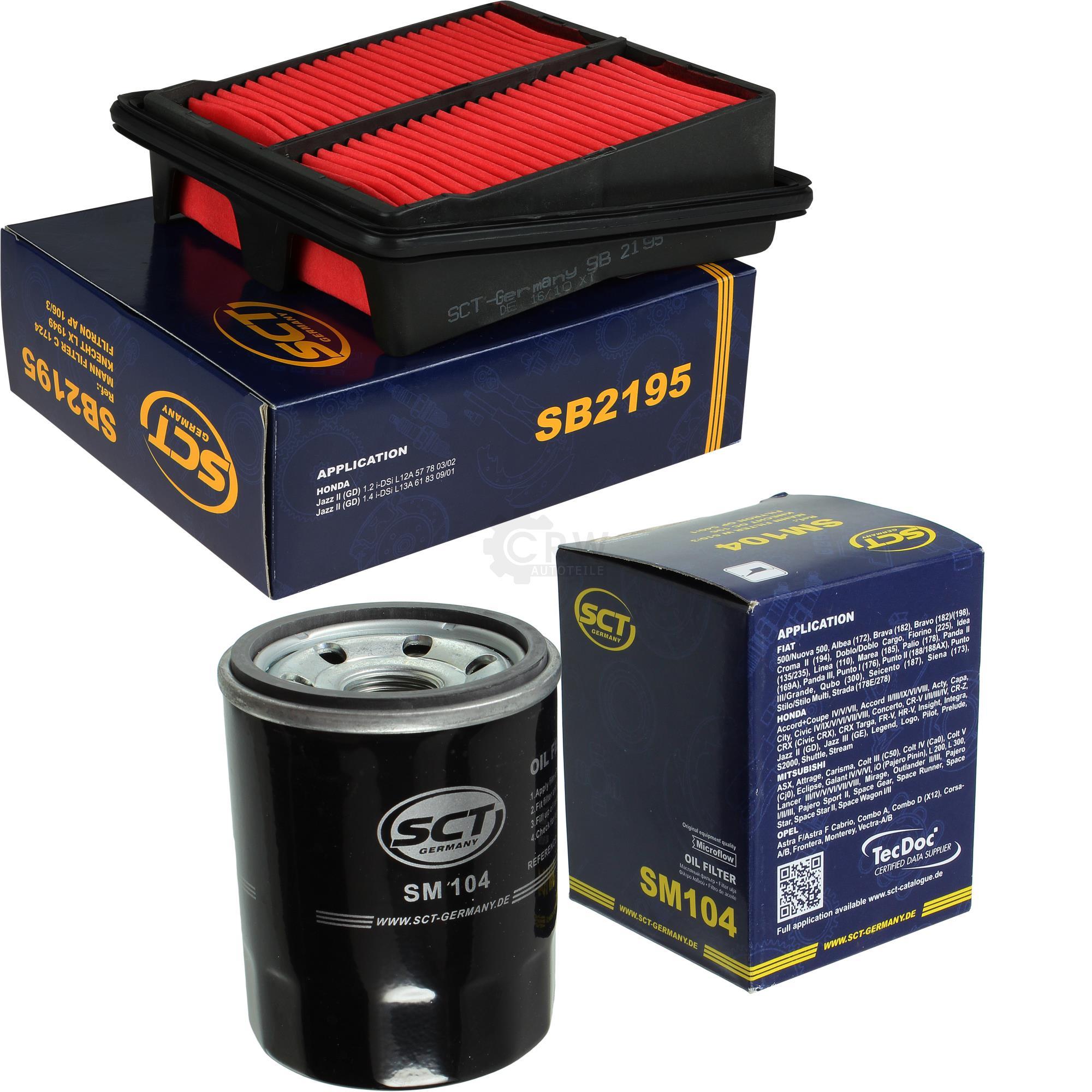 SCT Germany Inspektions Set Inspektionspaket Luftfilter /Ölfilter Innenraumfilter Kraftstofffilter