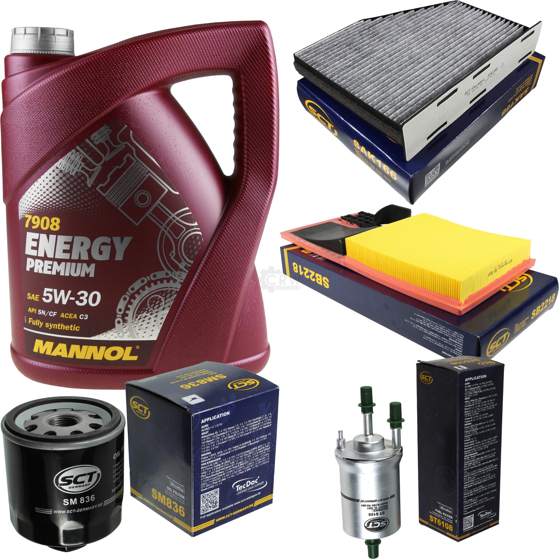 Cambio-de-aceite-set-5l-MANNOL-energy-premium-5w-30-aceite-del-motor-filtro-sct-kit-10139208