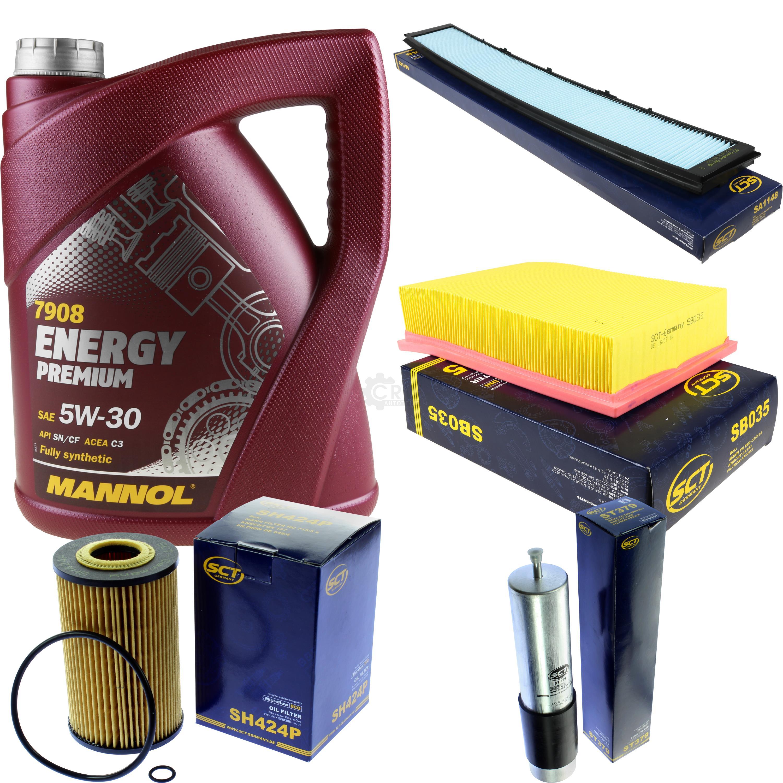 Cambio-de-aceite-set-5l-MANNOL-energy-premium-5w-30-aceite-del-motor-filtro-sct-kit-10140076