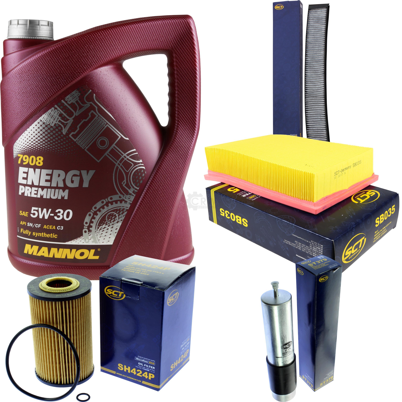 Cambio-de-aceite-set-5l-MANNOL-energy-premium-5w-30-aceite-del-motor-filtro-sct-kit-10140082
